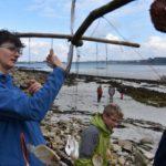 Atelier LandArt sur la plage